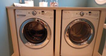 tørketrommel och vaskemaskine